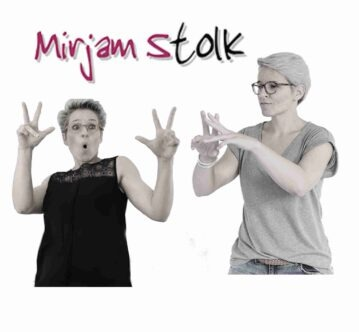 Mirjam Stolk dutch sign language interpreter