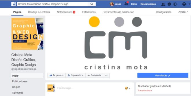 Cabeceras de Facebook en Málaga