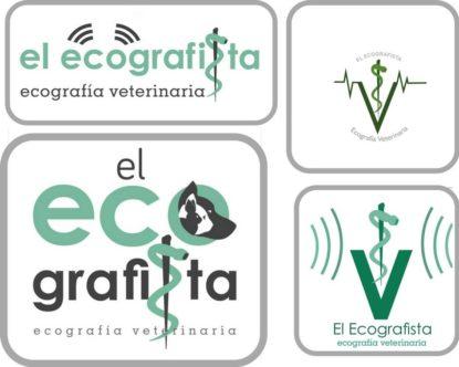 Diseño de logo de radiografía veterinaria en Málaga