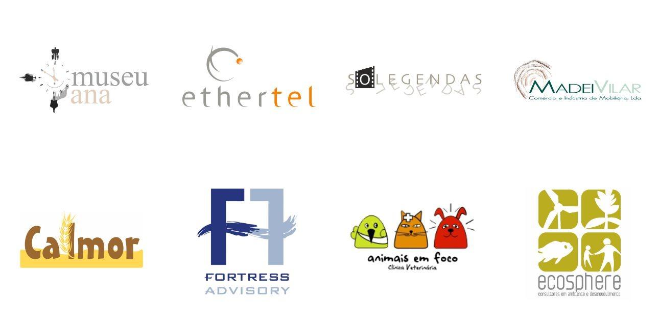 ocho logotipos
